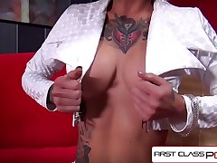 FirstClassPOV - Kleio Valentien take a monster cock in their way throat, big booty