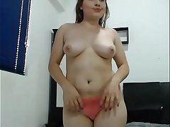 Sexy Latin slut dancing taunted her big ass not susceptible cam
