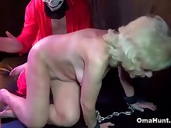 Blonde Granny Needs Some Dick Too