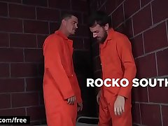Bromo - Rocko South with Sebastian Young at Barebacked In Prison Part 3 Scene 1 - Trailer preview