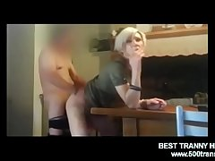 TRANNY FUCKED ANAL After a long time SMOKING www.500trans.club