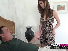 Horny step-father turtle-dove the brush daughter when mom is out! - camslover.eu