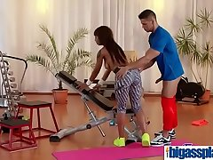 Gym bushwa for black bubble butt Milf(Lola Marie) 03 video-09