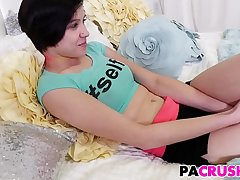 Stepdaughter Cadey Mercury Alluring Her Pa