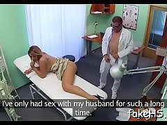 Alluring doctor gets fucked firm
