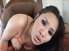 HD fat tight pussy asian get coarse black cock