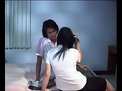 Romantic defloration of japanese virgin teen