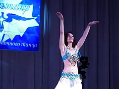 My debut at one's disposal the contest of oriental dance &quot_Star of Altair&quot_